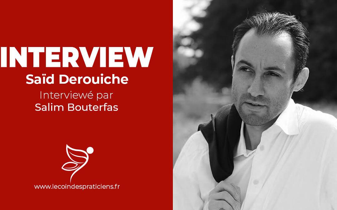 [Interview] Saïd Derouiche : l'avenir des thérapies brèves